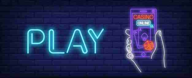 online casino neon sign gambling application play inscription 1262 13552 كازينو الهاتف الجوال
